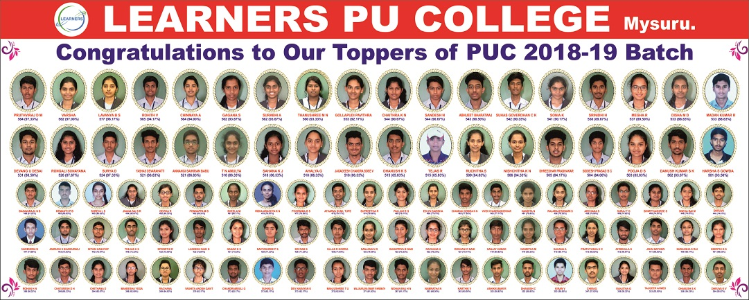 Home - Learners PU College